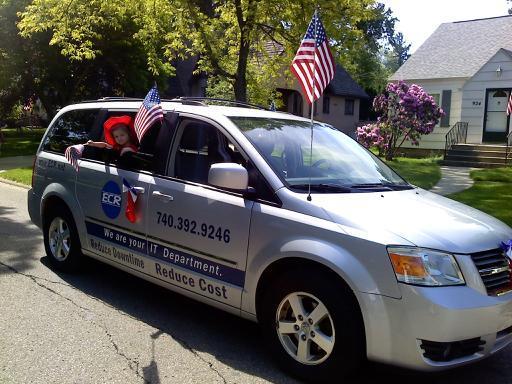 ECR Van, 2014 Memorial Day Parade